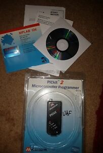 Authentic Microchip Pickit2 Pic Microchip Development Programmer Debugger