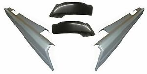 Rocker Panels And Cab Corners Fit 2001 2007 Chevy Silverado Sierra 4 Dr Crew Cab