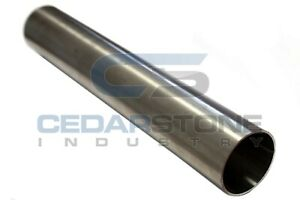 3 Od 304 Sanitary Stainless Steel Straight Tubing straight Pipe 5 Ft Pc