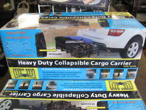 Heavy Duty Folding Cargo Carrier Collapsible For Easy Storage