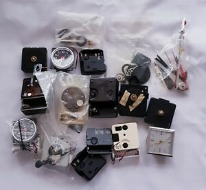 Bundle Joblot Of Various Clock Modules Parts For Repairs