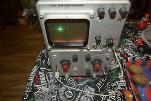 Vintage Working Tektronix 561b Oscilliscope 2a60 Amplifier 2b67 Time Tube Type
