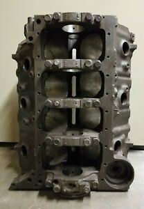 1968 427 Chevy Engine Block Casting 3915321 Date L287 4 Bolt Main