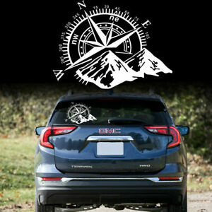 Universal Compass Rose Navigate Vinyl Sticker Car Truck Offroad Kk Decal Sticker