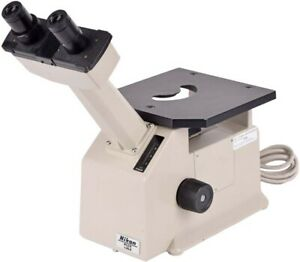 Nikon Tms Lab Tabletop Inverted Phase Contrast Binocular Microscope No Objective