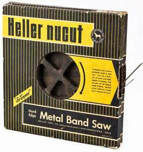 Lot 2 Heller Tool 3 8 1 4 Nucut Bandsaw Blade Hard Edge Metal Band Saw Coil