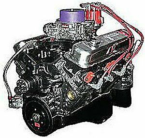 Blueprint Engines Mbp3550ctc Small Block Chevy 355ci Dress Marine Engine 365hp 3