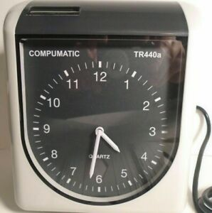 Compumatic Tr440a Heavy Duty Time Clock