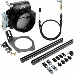 Holley 112 589k2 Throttle Body Kit Includes 90mm Throttle Body Throttle Cable B