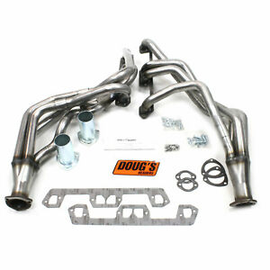 Doug s Headers D450 r Uncoated raw Headers 1963 1966 Dodge plymouth 273 360 1 5