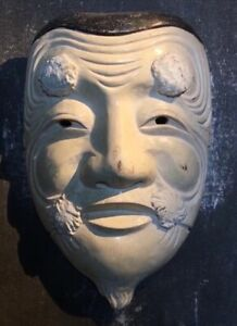 Noh Masu System Wood Carving Good Condition