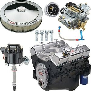Chevrolet Performance 19355659k 350 290 Deluxe Engine Kit Includes Engine Air C