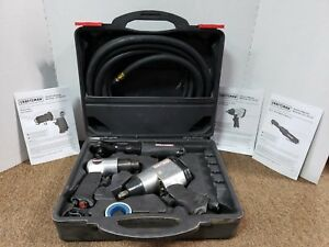 Craftsman 3 Piece Air Tool Set In Case B zz