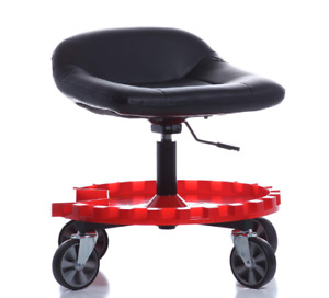 Work Stool Chair Rolling Creeper Seat Tools Tray Mechanics Proffesional Caster