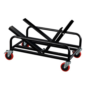 Norwood Commercial Furniture Universal Dolly For Sled Base Stack Chairs Black