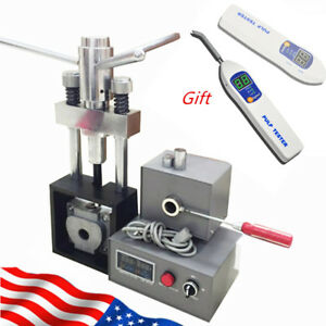Fast Dental Flexible Denture Machine Dentistry Injection Partial Equipment gift