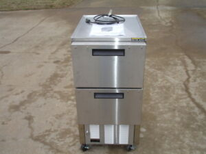 Silver King Sksd c4 Refrigerated Lettuce Crisper Dispenser Mobile Stainless New