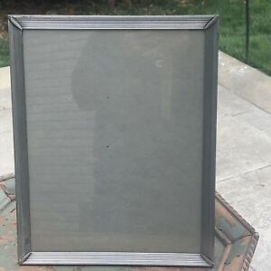 Vintage Table Or Wall Antique Bathroom Jewelry Mirror Brass Frame 15x11 75 5