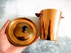 Vintage Pure Copper Container With Lid Beautiful Storage