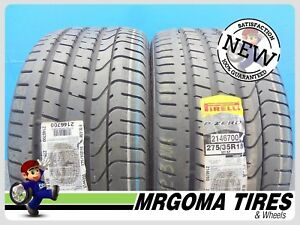 2 New 275 35 18 Pirelli Pzero Rft Xl Tires Bmw Mercedes 95y P Zero 2753518