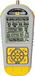 Lvpro3 Cable Tester For Rj45 Rj11 And Coax Print Reports Triplett