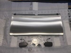 Audi Oem Q7 Rear Stainless Steel Tow Trailer Hitch Cover W Off Road Pkg