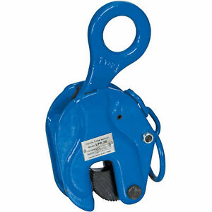 Vestil Locking Vertical Plate Clamp Lifting Attachment 2000 Lb Capacity