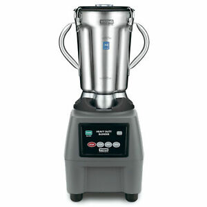 Waring Cb15 Blender One gallon 3 speed Stainless Steel Lot Of 1