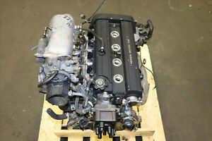 Jdm 99 01 Honda Cr V B20b High Comp Obd2 Engine 2 0l Dohc Motor B18b B20z 150hp