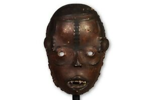 Chilling Cross River Face Mask 10 Nigeria African Art
