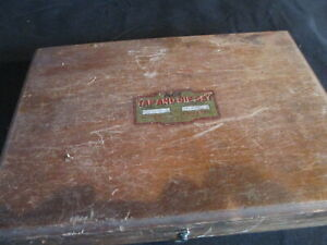 Vintage Ace Tap And Die Set In Wooden Case Henry L Hanson 24 Pc Set