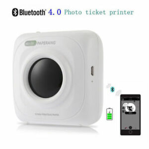 Mini Usb Bluetooth Pos Thermal Picture Photo Printer For Phone Portable Travel