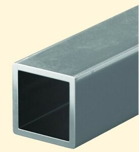 Steel Hollow Square Tube 1 1 2 O d X 6 Ft Long 1 8 Wall Carbon 1015 Alloy