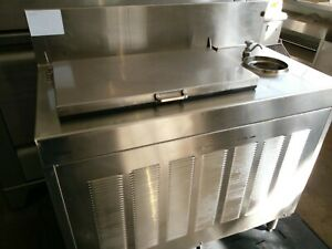 Glastender Fra 36 Underbar Ice Cream Dipping Cabinet Free Standing 5 f To 10 f