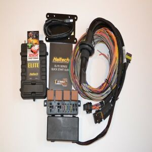 Haltech Elite 2000 Ecu 2 5m 8 Ft Premium Universal Wire In Kit 3 Bar Map
