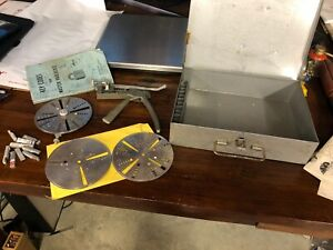 Vintage Curtis Industries Key Cutter Model 14 With Key Code Book