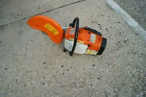 Stihl Ts400 Gas Powered Concrete Cut off Saw In Good Condition