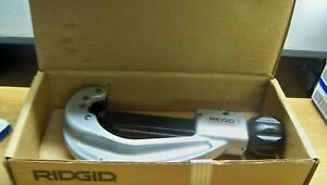 New Ridgid 152 31642 1 4 2 5 8 Quick Acting Tubing Cutter Free Priority S