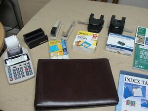 Lot Of Assorted Office Supplies And Computer Accessories