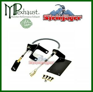 Jeep 1987 2001 Cherokee Xj Transfer Case Cable Shifter Kit Steinjager J0048615