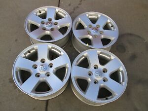 17 Dodge Ram 1500 Oem Factory Silver Alloy Wheels Rims