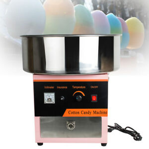 Cotton Candy Maker Machine Floss Commercial Carnival Party Fluffy Sugar Pink Usa