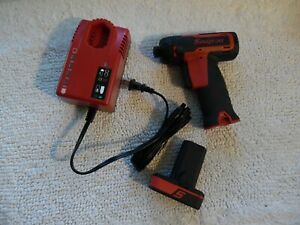 Snap On Cts761 14 4v Li Ion Cordless 1 4 Screwdriver Complete