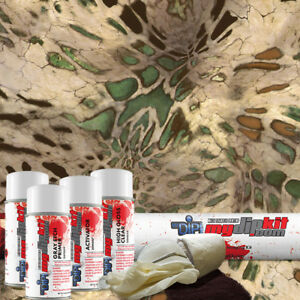 Hydro Dipping Water Transfer Printing Hydrographics Camo Dip Kit Prym1 Mp Rc 410