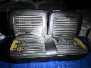 1978 1979 78 79 Ford Bronco Front Bench Seat Black