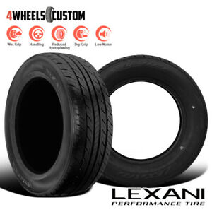 2 X New Lexani Lxtr 103 195 55r15 85v All Season High Performance Tires