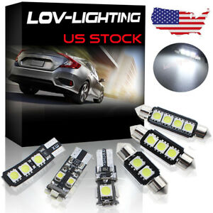 Error Free 6k White Interior Led Light Package For Bmw E90 E91 3 Series Us Stock