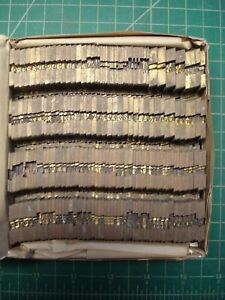 Ludlow Mats For Hot Type Letterpress 18 Point Font No Id Printing Lead Metal