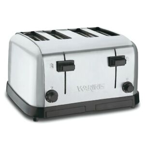Waring Commercial Comml 4 sl Toaster Chrome Single Pack pack Of 1