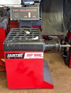 Hunter Dsp9000 Wheel Tire Balancer Machine 218